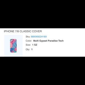 Lilly Pulitzer iPhone 7/8 Case/Cover